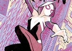 Conheça a Spider-Gwen, personagem de Homem-Aranha no Aranhaverso