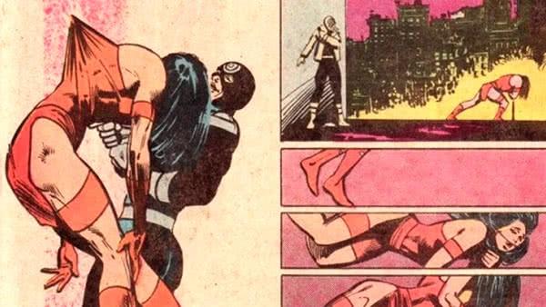 Elektra morta pelo Mercenário