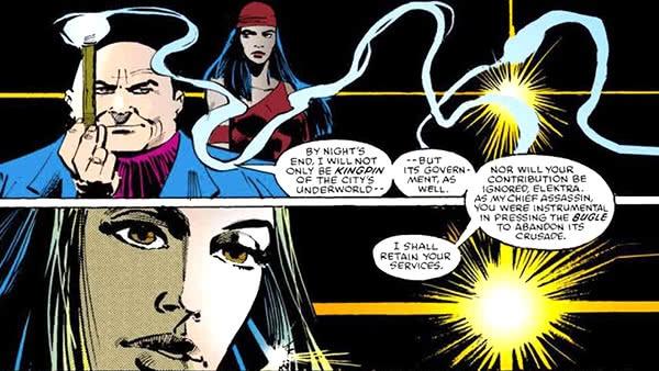 Elektra e o Rei do Crime