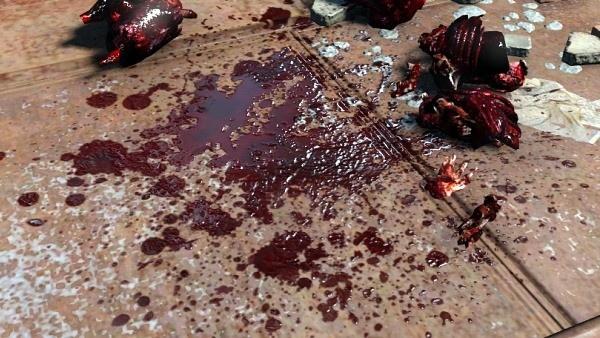 sangue realista