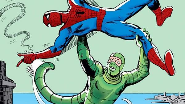 Escorpião e Homem-Aranha