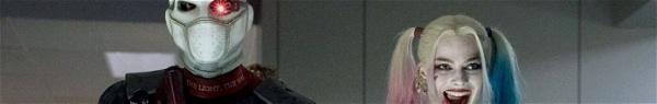 Esquadrão Suicida: Imagens conceituais do Pistoleiro e da Arlequina reveladas