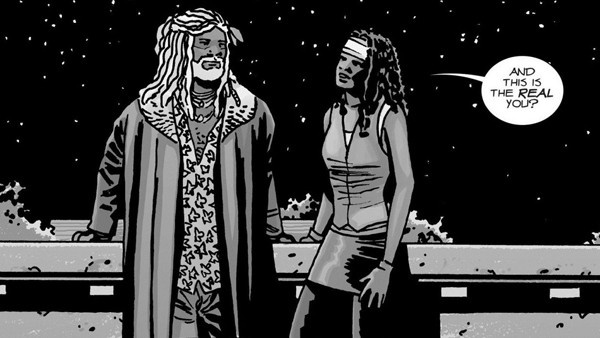 Ezekiel e Michonne