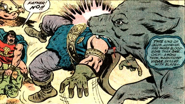 Fenris devora Odin