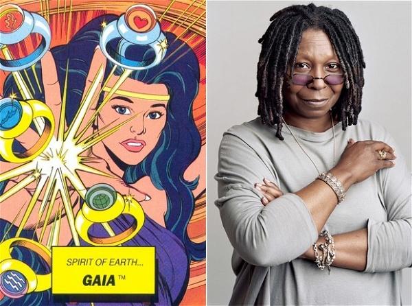 Whoopi Goldberg encarnou a personagem Gaia