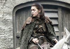 Game of Thrones: Arya está sozinha em sua cena final, conta atriz