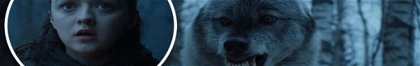 Game of Thrones: Arya reencontrou mesmo Nymeria, a loba gigante?
