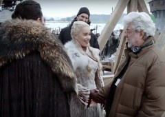 Game of Thrones | Vídeo de bastidores revela visita de George Lucas