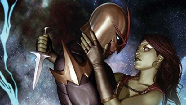 Gamora e Nova