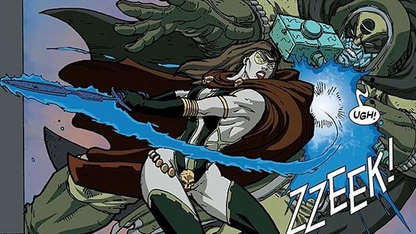 Gamora e Ronan, o Acusador