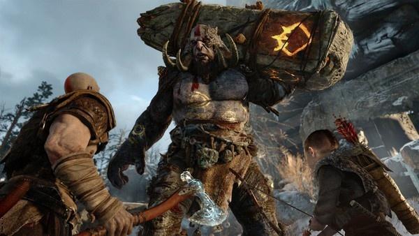 captura de tela de God of War