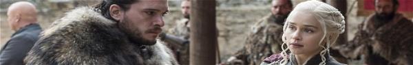 GoT: HBO revela cena da 8ª temporada com Jon, Daenerys e Sansa!