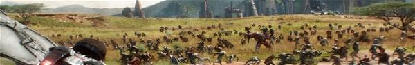 Guerra Infinita: bastidores mostra cena de batalha em Wakanda