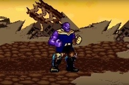 Guerra Infinita: Fã recria batalha contra Thanos em 16-bit!