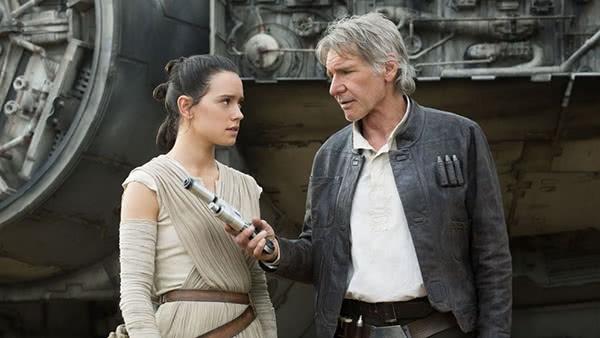 Han Solo e Rey