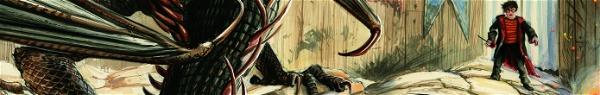 Harry Potter | Edição ilustrada do 4º livro ganha primeiras imagens