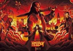Hellboy é mais sobre horror do que super heróis, diz David Harbour
