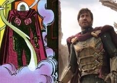 Comparações entre o Mysterio de Longe de Casa e dos quadrinhos!