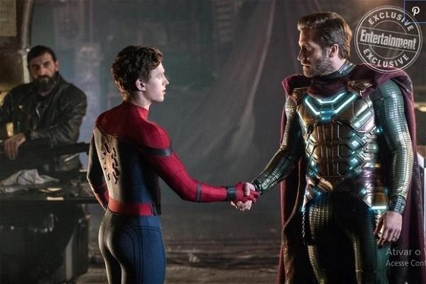 Homem-Aranha e Mysterio