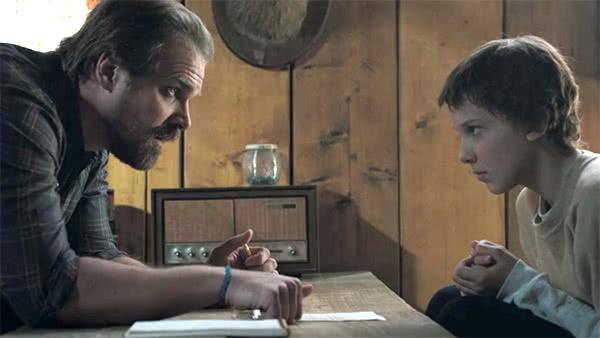 Hopper e Eleven