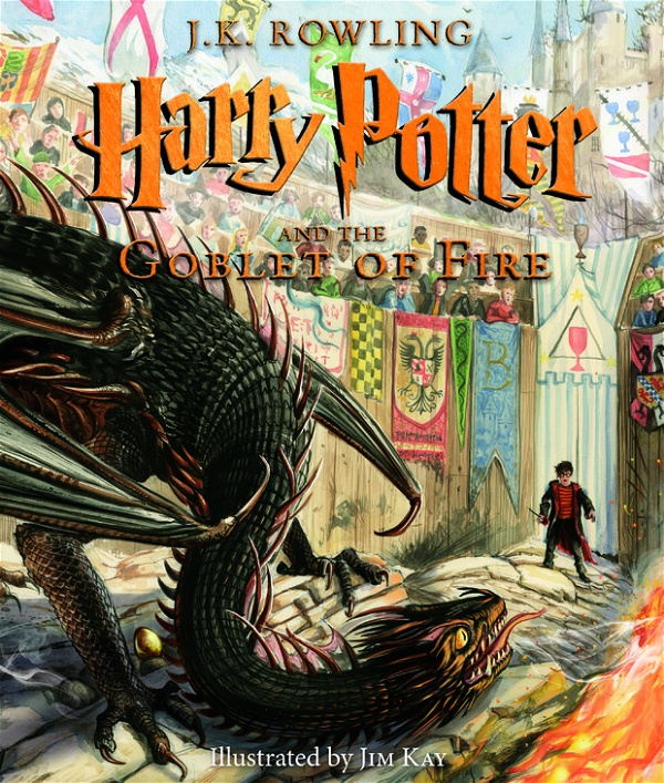 Harry Potter e o Cálice de Fogo ilustrado