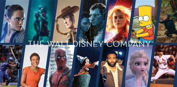 Site da The Walt Disney Company