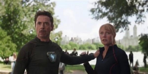 Tony Stark e Pepper Potts