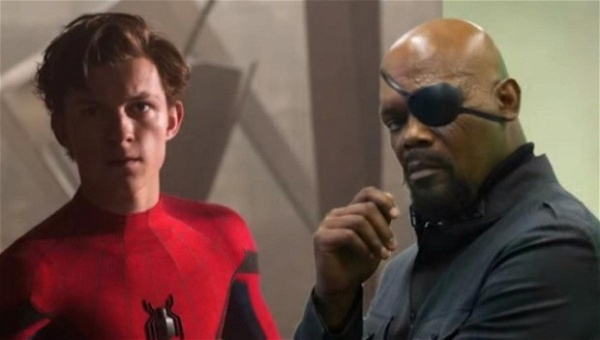 Nick Fury e Peter Parker