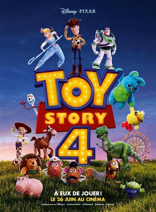 Toy Story 4 Novo Poster Internacional Reune Personagens Do Filme