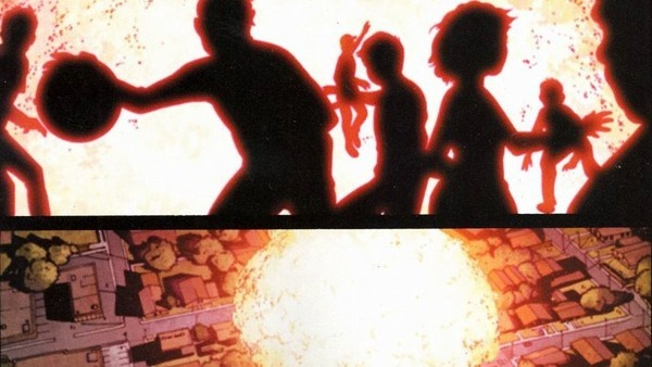 A explosão de Nitro em Guerra Civil