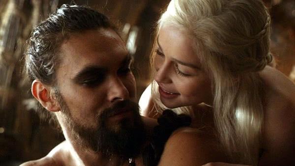 Khal Drogo e Daenerys Targaryen