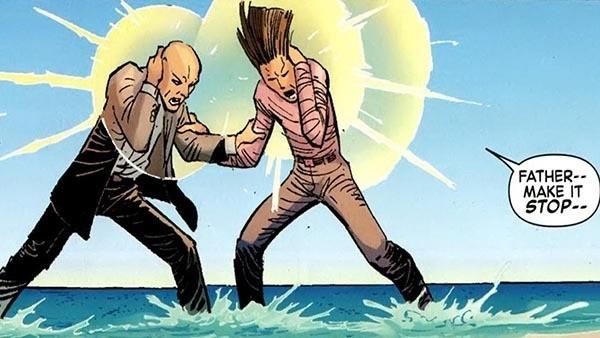 Charles Xavier e Legião
