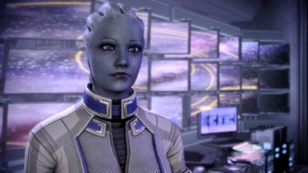 Personagem Liara T'Soni de Mass Effect original