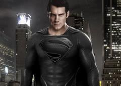 Liga da Justiça: Uniforme negro do Superman existia na versão de Zack Snyder