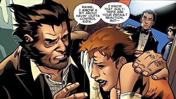 Wolverine e Lupina