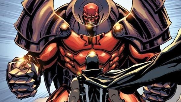 Magneto e Caveira Vermelha