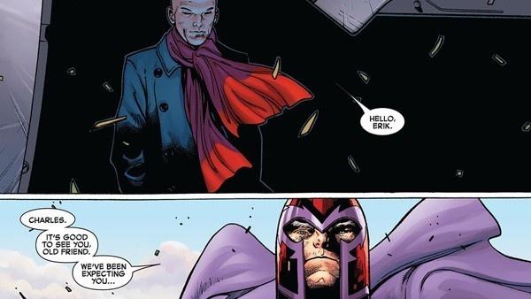 Magneto e Xavier
