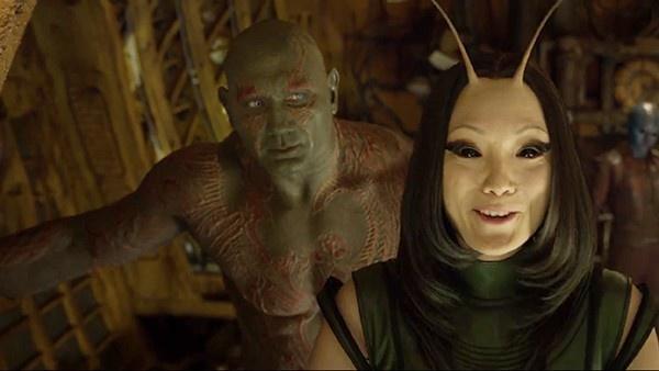 Drax e Mantis