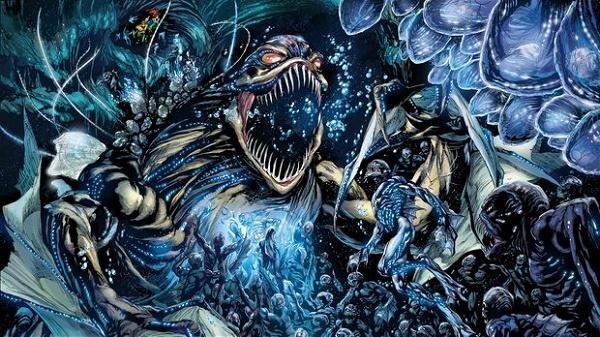 criaturas do fosso