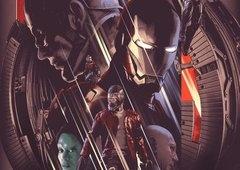 Marvel divulga pôsteres dos 10 anos do MCU com heróis e vilões
