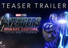 Marvel Studios anuncia experiência VR chamada Avengers: Damage Control
