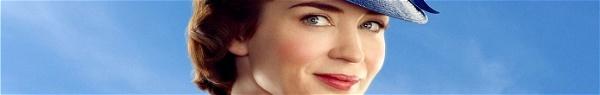 Mary Poppins reencontra os Banks em primeiro trailer de sequência