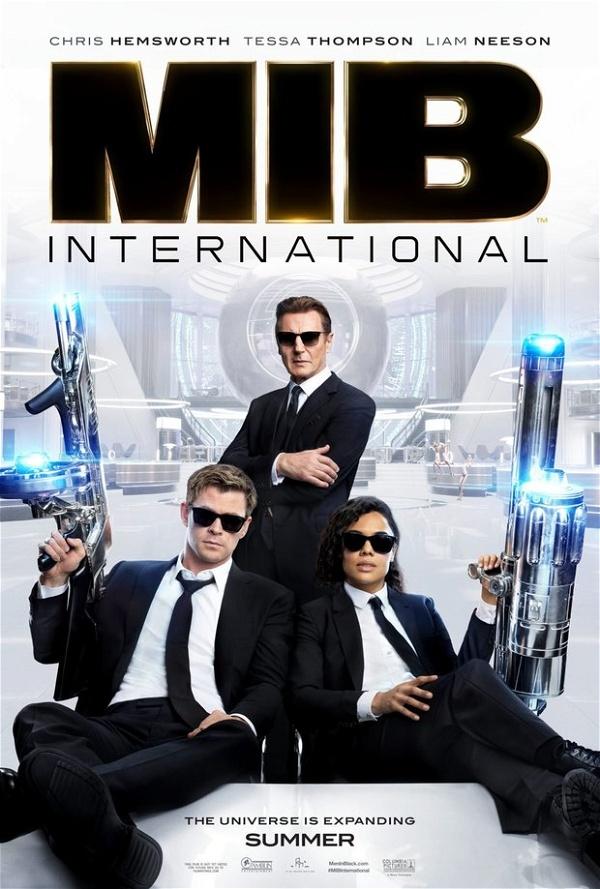 Poster MIB Homens de Preto