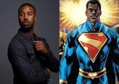 Michael B. Jordan teve reunião com Warner sobre filme do Superman