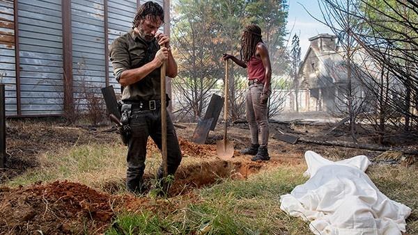 Michonne e Rick