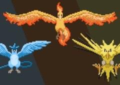 Moltres, Articuno e Zapdos: conheça os Lendários do PokémonGO