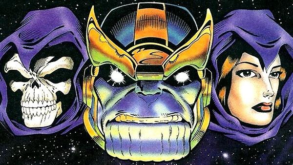 Morte e Thanos