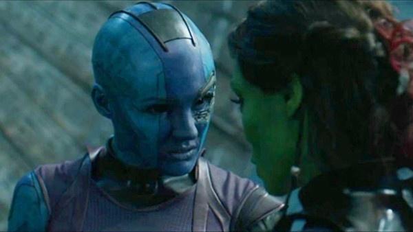 Nebulosa e Gamora