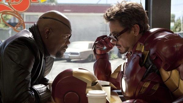 Nick Fury e Homem de Ferro