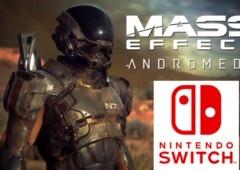 Nintendo Switch não vai ter Mass Effect: Andromeda